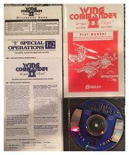 Wing Commander II Vengeance Of The Kilrathi Deluxe DOS Brand New Sealed - Nice