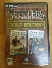 PC DVD ROM - THE SETTLERS HERITAGE OF KINGS GOLD EDITION - PRFETTO PARI AL NUOVO