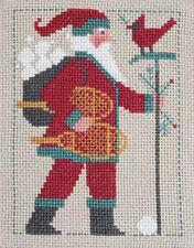 2011 Yearly Santa Prairie Schooler Cross Stitch Pattern