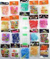 Loom Bands 10.000 XL Paket  Rainbow DIY Verschlusshaken 30 Farben  XXL Webrahmen