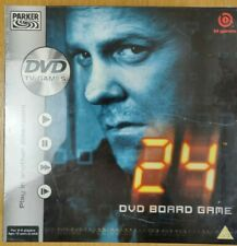 24 The DVD Board Game by Parker 2006 PAL TV Games New and sealed 2-4 players
