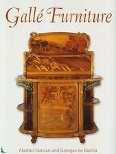 Gallé Furniture, livre de A. Duncan et G. de Bartha