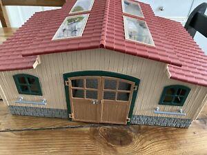 Schleich Horse Stable Farm World Building User Good Condition