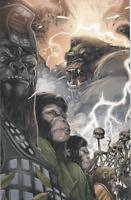 Kong on The Planet of the Apes #4 BOOM VIRGIN COVER B CONNECTING VARIANT