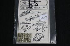 YX105 VP verlinden maquette diorama 65 Seat Belt Buckles sangle boucle ceinture