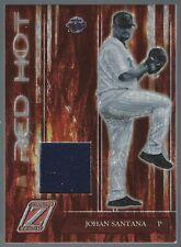 Johan Santana 2005 Zenith Red Hot Jerseys 064/150 Card# RH-2