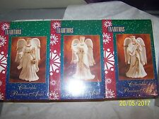 Set of 3 Collectable Musical Porcelain Angels New in Box