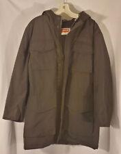 Levi's Size Medium Mens Hiking Black Fleece Zip Up Winter Jacket Coat
