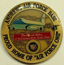 Air Force One Andrews AFB, DC Proud Home AF One Challenge Coin      Msc1