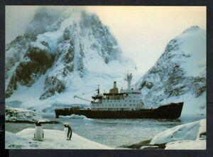 British Antarctic Territory 1987 RRS Bransfield Postcard, Signy Island Postmark