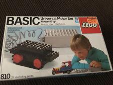 Lego 810 Basic Universal Motor Set 100% Complete & Works!