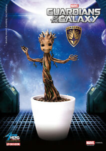 Dragon Models Action Hero Vignette Guardians Of The Galaxy Little Groot Statue
