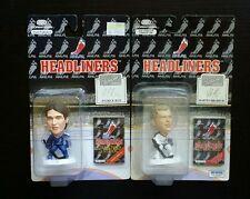 "Headliners PATRICK ROY & MARTIN BRODEUR 3"" NHLPA Figure Lot NHL Legends"