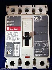 Circuit Protector WESTINGHOUSE HMCP050G2C 50 AMP 3 Pole Motor  600VAC - 250VDC