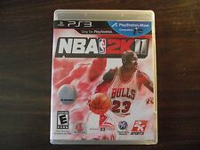 NBA 2K11 - Sony Playstation 3 (PS3) - COMPLETE