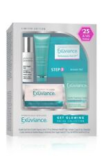 Exuviance Skin Care Get Glowing 6-Piece Facial Collection NEW NIB