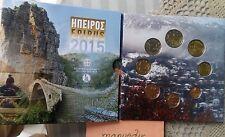 manueduc  GRECIA 2015  CARTERA Oficial  EUROS  2 Euros Normal EPIRUS Nueva