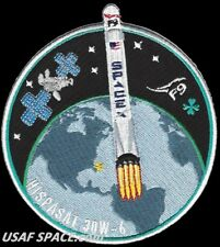 NEW HISPASAT 30W- 6 - SPACEX - ORIGINAL FALCON 9 Launch SATELLITE Mission PATCH