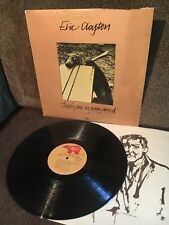 ERIC CLAPTON There's One In Every Crowd 1975 RSO LP SO-4806 EXC