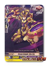 Cardfight Vanguard  x 4 Steam Knight, Shu Sin - G-TD01/016EN - TD (common ver.)