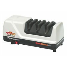 CHEF'S CHOICE CC1520 ELECTRIC DIAMOND KNIFE SHARPENER WHITE AUST STOCK