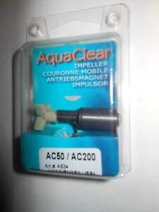 AquaClear Aqua Clear 50 / 200 AC50 / AC 200 Hagen Impeller A634 A-634