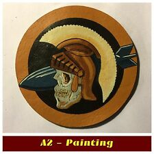 WW2 Hand Painted 533rd Bomb Sqd Leather Patch For A2 G1 Flying Jacket