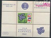 Paraguay Block15 postfrisch 1961 Europa (8940425