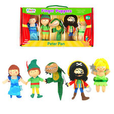 Peter Pan finger puppet set complete with finger puppet theatre