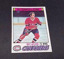 1977-78 OPC # 200 CANADIENS GUY LAFLEUR ALL STAR NM/M