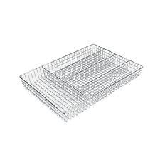 Range couverts en métal chromé  36 x 26 x 5 cm  Rangement Tiroir Placard Cuisine