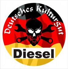 2 x Feinstaubplakette Diesel Kulturgut Autoaufkleber Tuning Sticker Nr. 7533-2