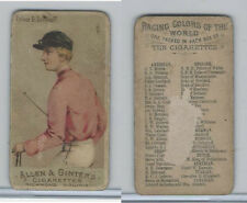 N22 Allen & Ginter, Racing Colors of the World, 1888, Prince D. Soltykoff