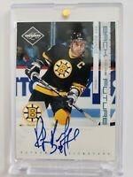 1/1 Ray Bourque Zdeno Chara Limited DUAL Autograph Auto Boston Bruins TRUE 1/1