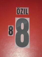 FLOCAGE OFFICIEL OZIL ALLEMAGNE HOME 2012-2014