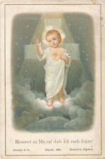 Heiligenbilder Kommet zu Mir, auf dass ich euch segne mit Engel   (HB1)