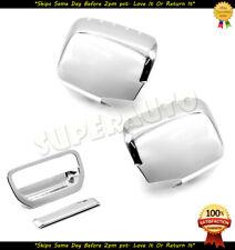 For 2006-2014 Honda Ridgeline Chrome Mirrors+Tailgate Covers Overlay 10 11 12 13