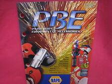 USED NAPA PAINT BODY EQUIPMENT ACCESSORIES PRODUCTS CATALOG 2008  (N-281)