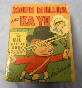 1933 MOON MULLINS AND KA YO Kayo Whitman Big Little Book #746 GD+ 2.5