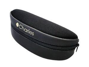 Black small to medium Glasses Eyeglasses Sunglasses Soft Case Zip Easy Store
