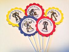 Transformers Customized Cupcake Toppers/Picks 12 count