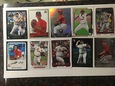 Cardinals RC Lot Carpenter Wainwright Martinez Reyes Wacha Wong Weaver Adams +++