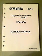 SERVICE MANUAL 2011 YAMAHA Raptor 90 YFM90RA LIT-11616-24-16