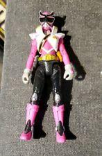 "Power Rangers Shinken Pink Action Figure TV Animated Series 4"" Ninja Bandai SCG"