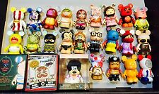 Disney vinylmation Lot of 25 With 3 Sealed Boxes Villains Tunes Urban Park Nice!