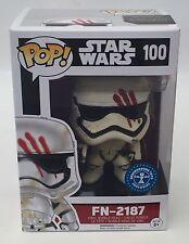 Star Wars FN-2187 Finn Stormtrooper Blood Smear Pop Vinyl Exclusive