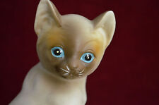 VINTAGE Mann Music Box Figurine Cat & Kitten on Pillows 1988 WORKS GREAT