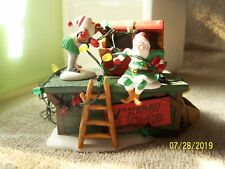 """Heritage Village Collection """"Untangle The Christmas Lights""""-Very Cute"""
