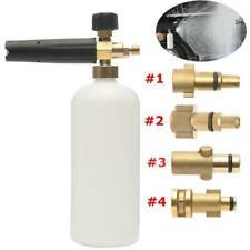 Pressure Snow Foam Washer Jet Car Wash Adjustable Lance Cannon Soap Sprayer