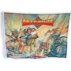 Bolt Thrower 'Realm Of Chaos' Printed Flag - NEW OFFICIAL